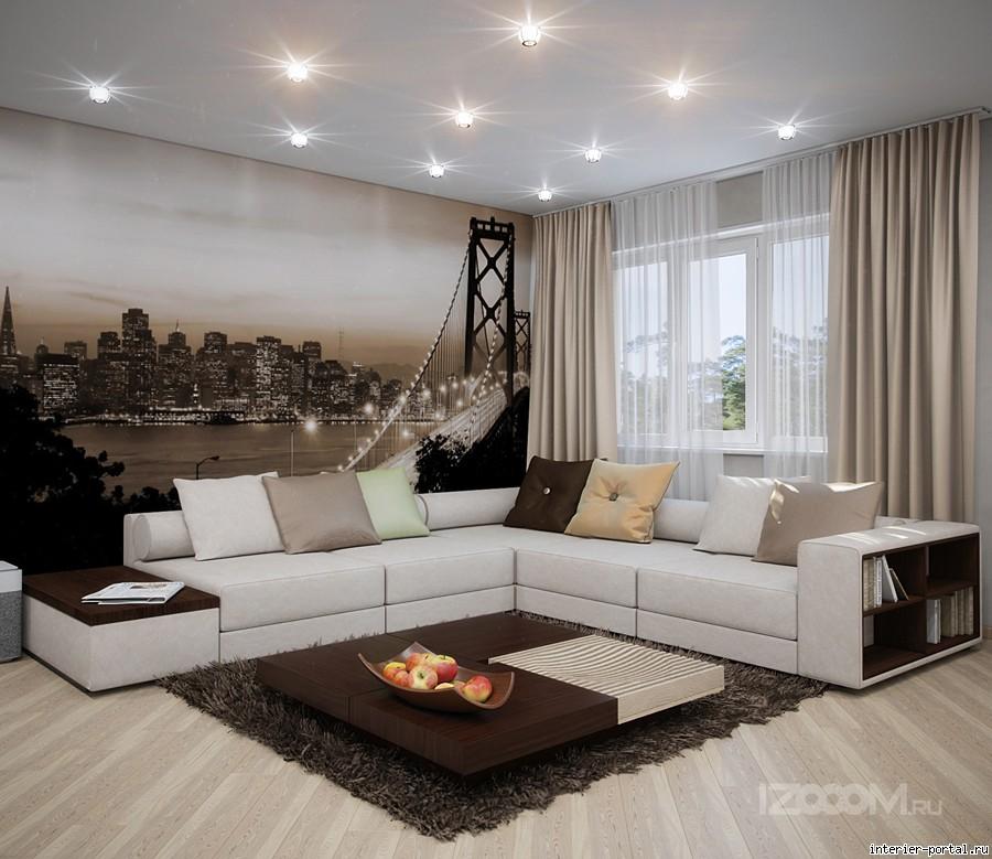 Интересный дизайн квартиры фото